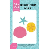 Echo Park - Designer Dies - Let's Be Mermaids - Seashells #2
