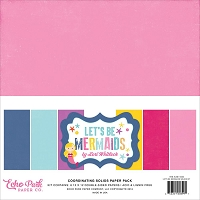 Echo Park - Let's Be Mermaids Collection - Solids Paper Pack