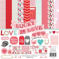 Echo Park - Lucky In Love Collection by Allison Kreft - Collection Kit