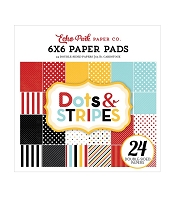 Echo Park - Magical Adventure Collection - Dots & Stripes 6x6 Paper Pad