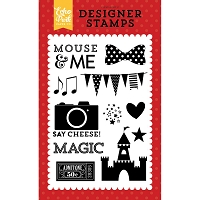 Echo Park - Magical Adventure Collection - Mouse and Me Clear Stamps