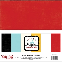 Echo Park - Magical Adventure Collection - Solids Paper Pack
