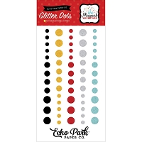 Echo Park - Magical Adventure Collection - Glitter Enamel Dots