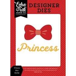 Echo Park - Designer Dies - Magic and Wonder Princess Bow Die