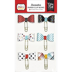 Echo Park - Magic and Wonder Collection - Paper Clip Bows