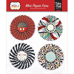 Echo Park - Magic and Wonder Collection - Mini Paper Fans