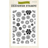 Echo Park -  Clear Stamps - Snowflakes #2 Background