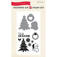 Echo Park - Designer Die & Clear Stamp Combo Set - Classic Christmas :)