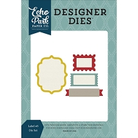 Echo Park - Designer Dies - Labels #8