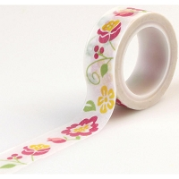 Echo Park - Petticoats & Pinstripes (Girl) - Decorative Tape - Girl Floral