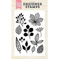 Echo Park - Designer Clear Stamps - Fall Botanicals