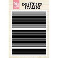 Echo Park - Designer Clear Stamps - Stripe A2 Clear Stamp
