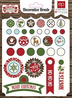Echo Park - The Story of Christmas Collection - Decorative Brads :)