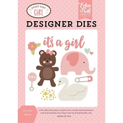 Echo Park - Sweet Baby Girl Collection - It's A Girl Die Set