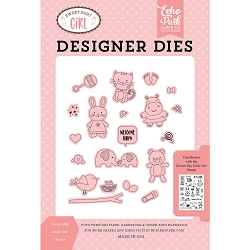 Echo Park - Sweet Baby Girl Collection - Dream Big Little One Die Set
