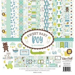 Echo Park - Sweet Baby Boy Collection  - Collection Kit