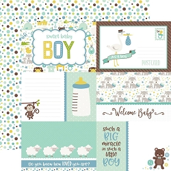 Echo Park - Sweet Baby Boy Collection - 12