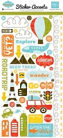 Echo Park - Mini Themes - Enjoy The Ride Collection - Stickers :)