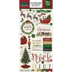 Echo Park - 'Twas The Night Before Christmas Collection - 6x12 Chipboard