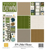 Echo Park - EP Mini Themes Collection Kit - Touchdown