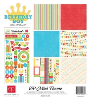 Echo Park - EP Mini Themes Collection Kit - Birthday Boy :)