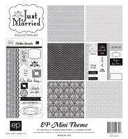 Echo Park - EP Mini Themes Collection Kit - Just Married