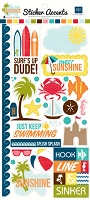 Echo Park - EP Mini Themes - Stickers - Sunshine
