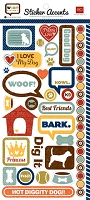 Echo Park - EP Mini Themes - Stickers - Woof :)