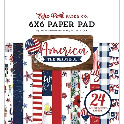 Echo Park - America The Beautiful Collection - 6x6 Paper Pad