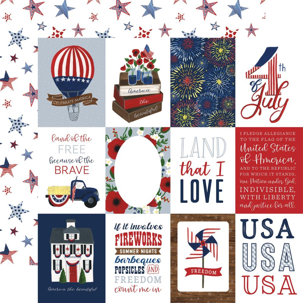 """Echo Park - America The Beautiful Collection - 3""""x4 ..."""