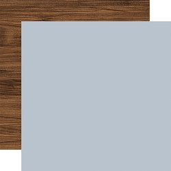 Echo Park - America The Beautiful Collection - Dusty Blue/Woodgrain 12