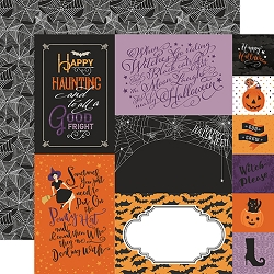 Echo Park - Bewitched Collection - Journaling Cards 12
