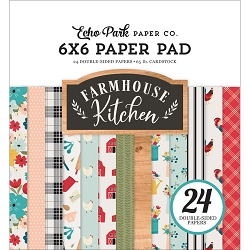 Echo Park - Farmhouse Kitchen Collection - 6x6 Paper Pad