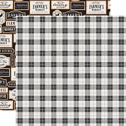 Echo Park - Farmhouse Kitchen Collection - Picnic Plaid 12