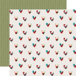 Echo Park - Farmhouse Kitchen Collection - Roaming Roosters 12