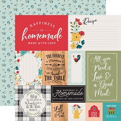 Echo Park - Farmhouse Kitchen Collection - Multi Journaling Cards 12