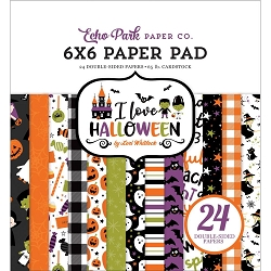 Echo Park - I Love Halloween Collection - 6x6 Paper Pad