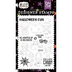 Echo Park - I Love Halloween Collection - Too Cute To Spook clear stamp