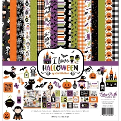 Echo Park - I Love Halloween Collection - Collection Kit