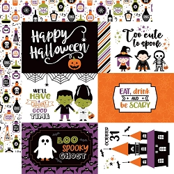 Echo Park - I Love Halloween Collection - 6