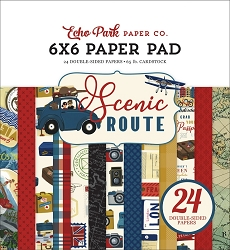 Echo Park - Scenic Route Collection - 6x6 Paper Pad