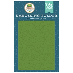 Echo Park - Summer Adventure Collection - Constellations Embossing Folder