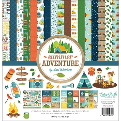 Echo Park - Summer Adventure Collection  - Collection Kit