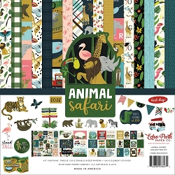 Echo Park - Animal Safari Collection  - Collection Kit