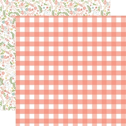 Echo Park - Baby Girl Collection - Girl Gingham 12