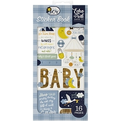Echo Park - Baby Boy Collection - Stickers Book