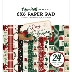 Echo Park - A Cozy Christmas Collection - 6x6 Paper Pad