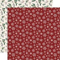 Echo Park - A Cozy Christmas Collection - Snowflakes 12