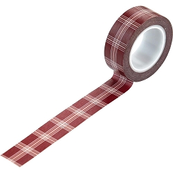 Echo Park - A Cozy Christmas Collection - Holiday Plaid Decorative Tape