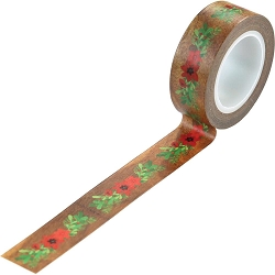 Echo Park - A Cozy Christmas Collection - Floral Swag Decorative Tape